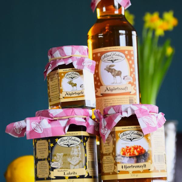 Marmeladen und Säfte