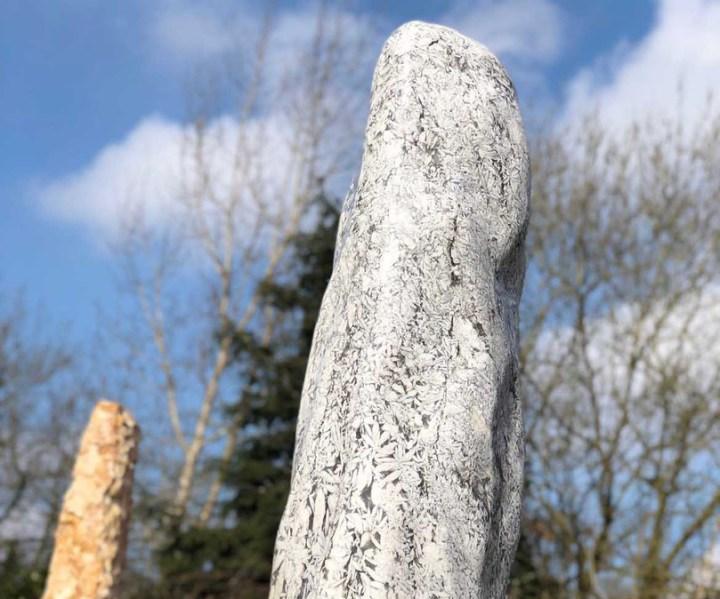 TwinRocks Gartenstien Springbrunnen