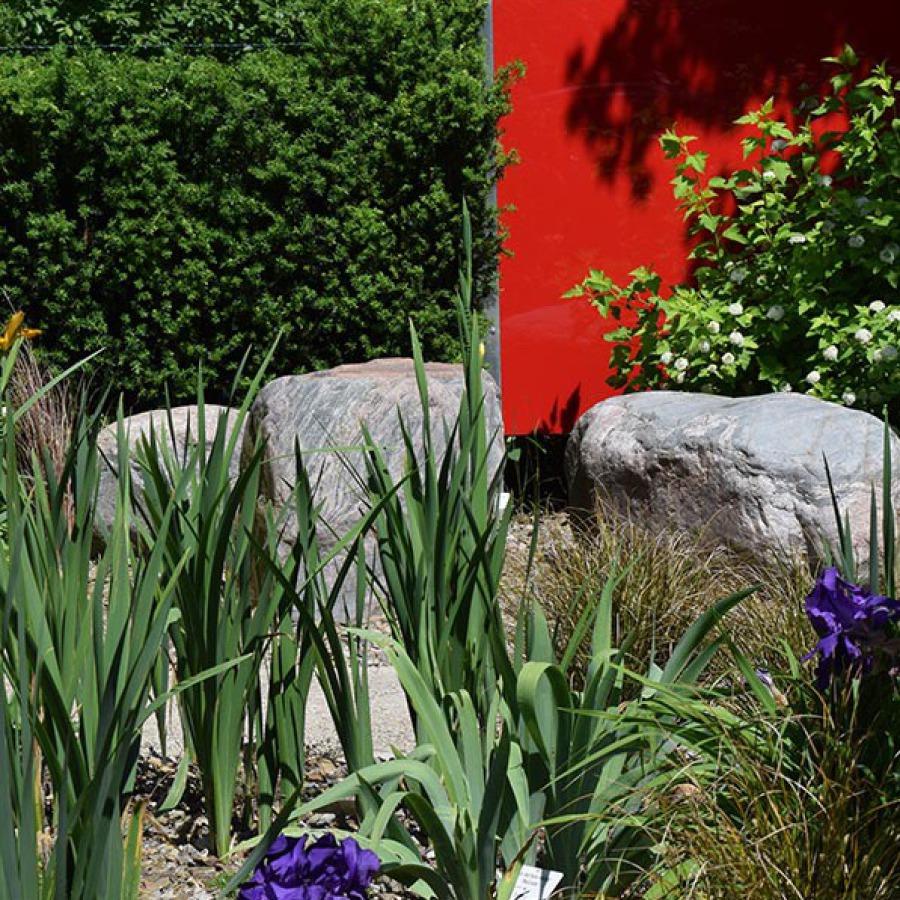 Steine als Gartenmöbel - Gartengestaltung
