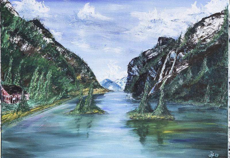 Skandinavischer Fjord